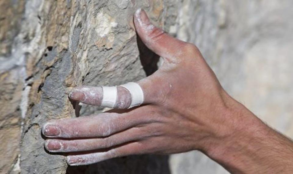 Травмы пальцев при скалолазании